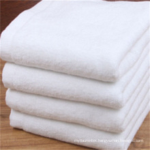 Plush Hotel White 100 Cotton Bath Towel And Face Towel Set